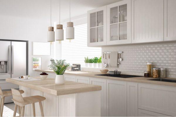 Jak urozmaicic wyglad bialej kuchni